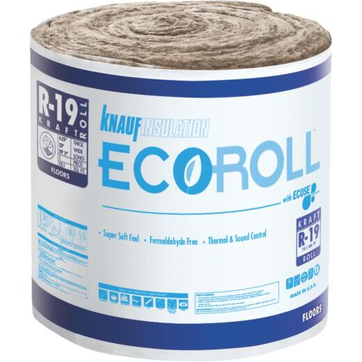 Knauf R-19 23 In. X 39.16 Ft. Standard Kraft Faced Roll Fiberglass Insulation