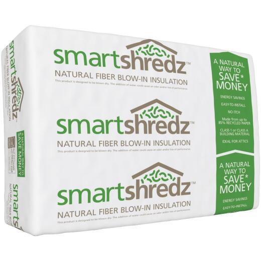 SmartShredz R-13 To R-60 19 Lb. Low Dust Loose Fill Cellulose Insulation