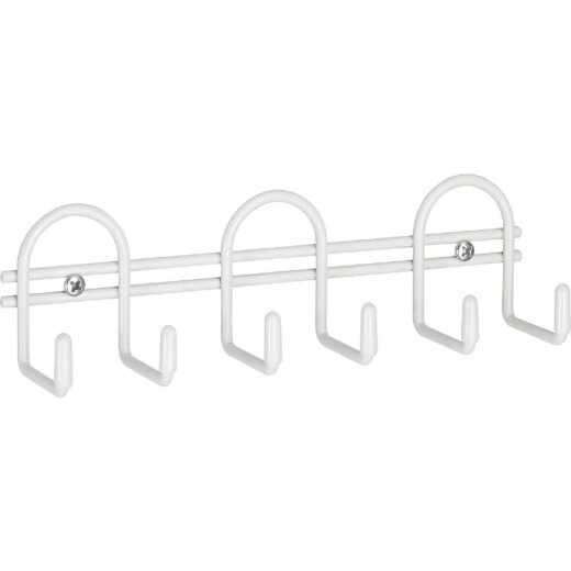Closetmaid White Utility Hook Rail