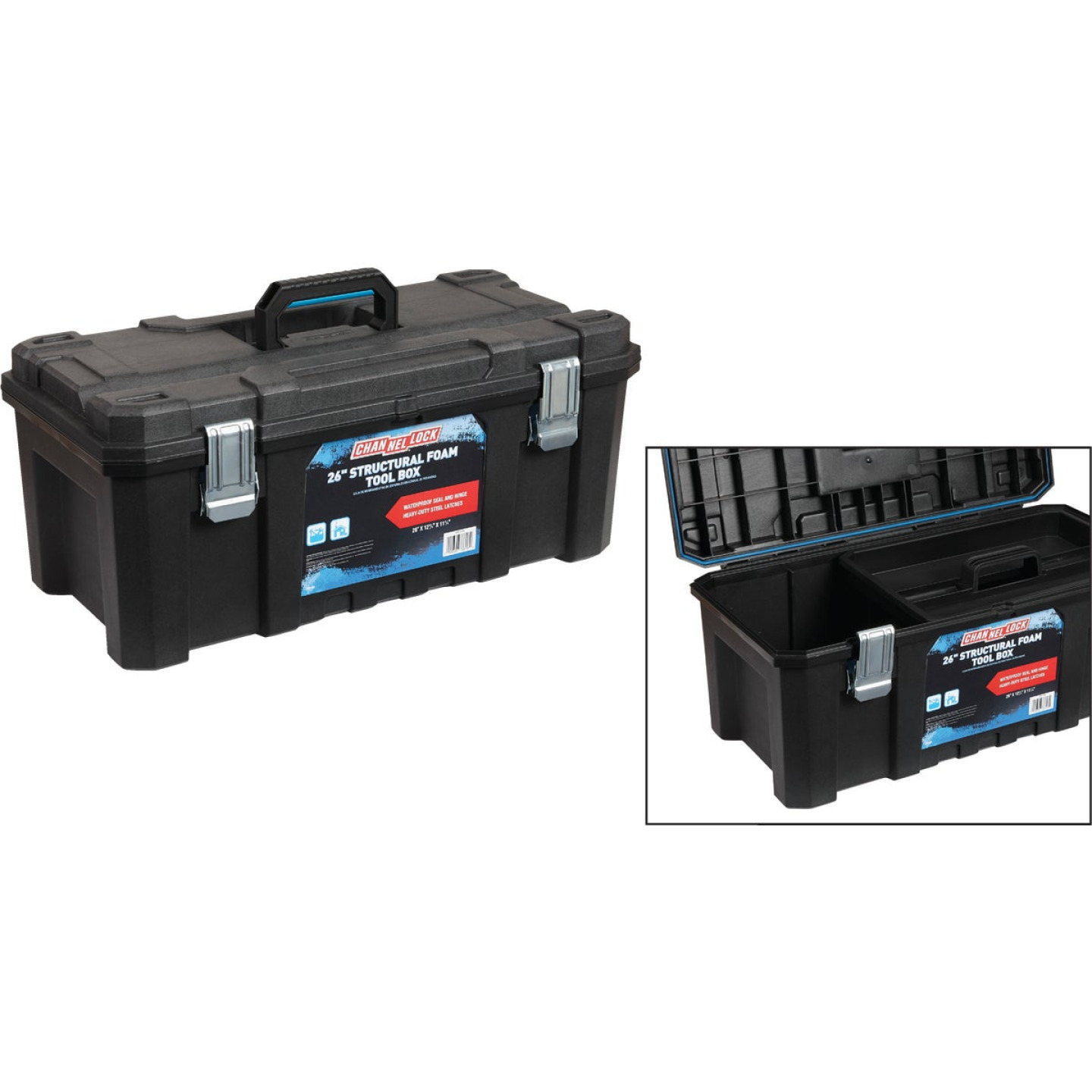 Channellock 26 In. Structural Foam Toolbox Image 1