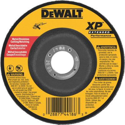 DeWalt HP Type 27 7 In. x 0.045 In. x 7/8 In. Metal/Stainless Notching Cut-Off Wheel