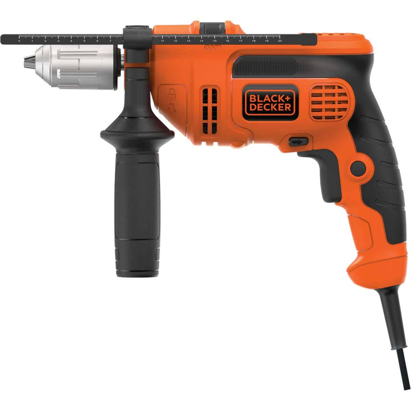 Black and Decker 1/2 In. 6.5-Amp Keyless Electric Hammer Drill Image 1