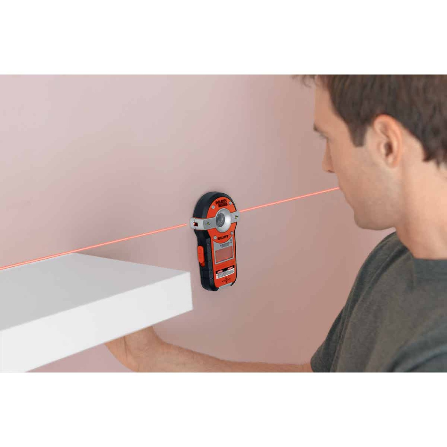Black & Decker Bullseye 20 Ft. Self-Leveling Line Laser Level with Stud Sensor Image 5