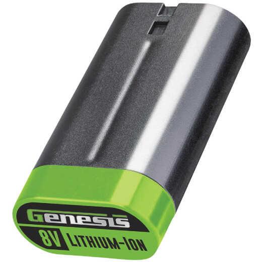 Genesis 8V Lithium-Ion 1.3 Ah Tool Battery
