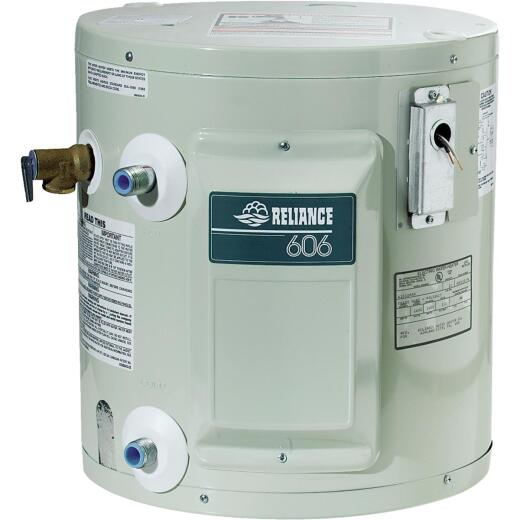 Reliance 6 Gal. Compact 6yr 1650W Element Electric Water Heater