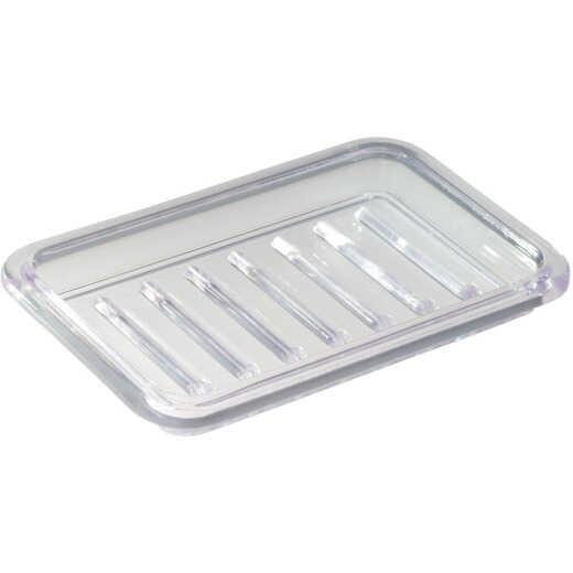 iDesign Royal Rectangular Textured Soap Dish