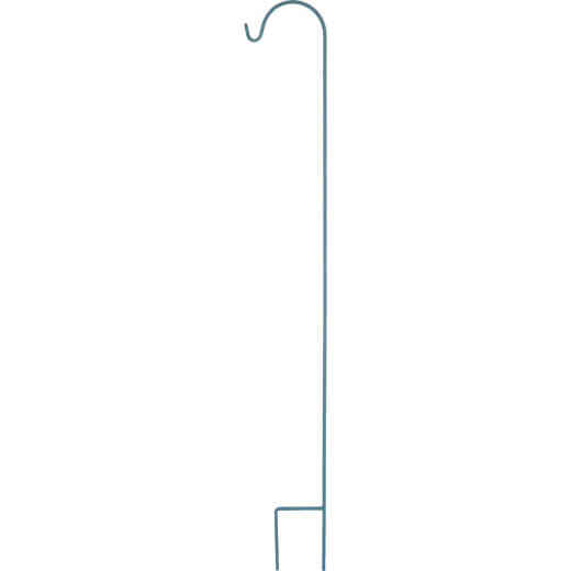 American GardenWorks UrbanGarden 90 In. Calvary Blue Single Hanger Shepherd Hook