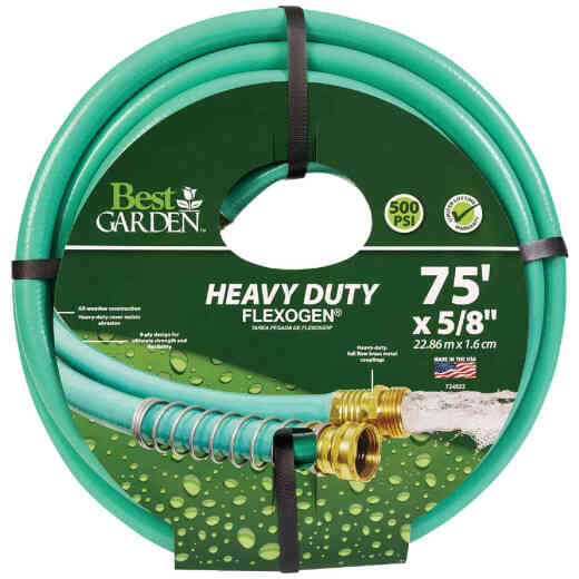 Best Garden Flexogen 5/8 In. Dia. x 75 Ft. L. Garden Hose