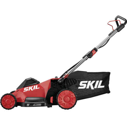 SKIL PWRCore 40V Brushless Self-Propelled Mower Kit and AutoPWRJump Charger