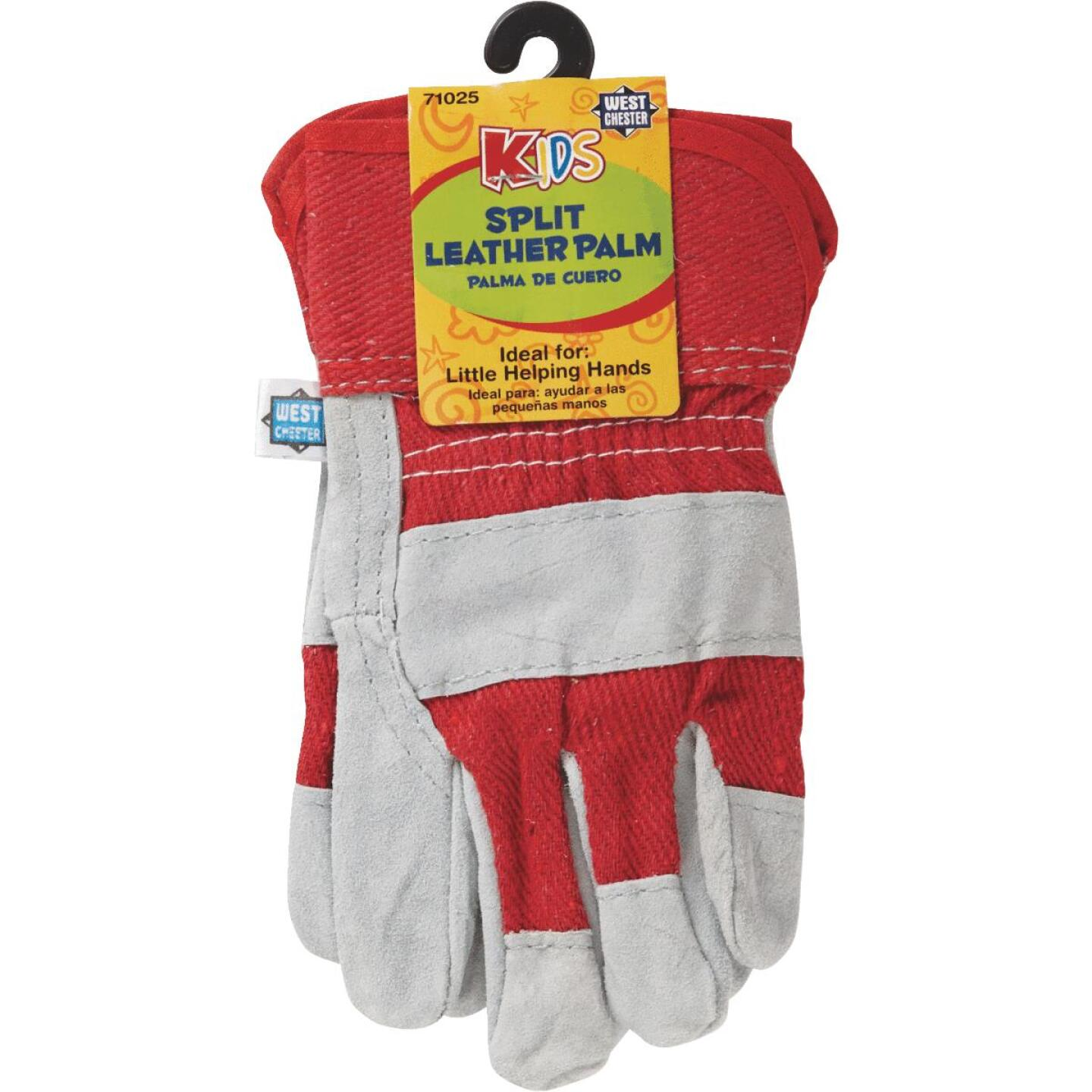 West Chester Protective Gear Age 5 to 8 Leather Glove Image 2